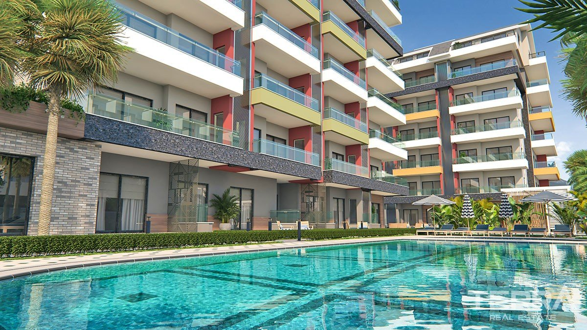 Vanessa Park Apartments in Alanya Kargicak at favorable prices