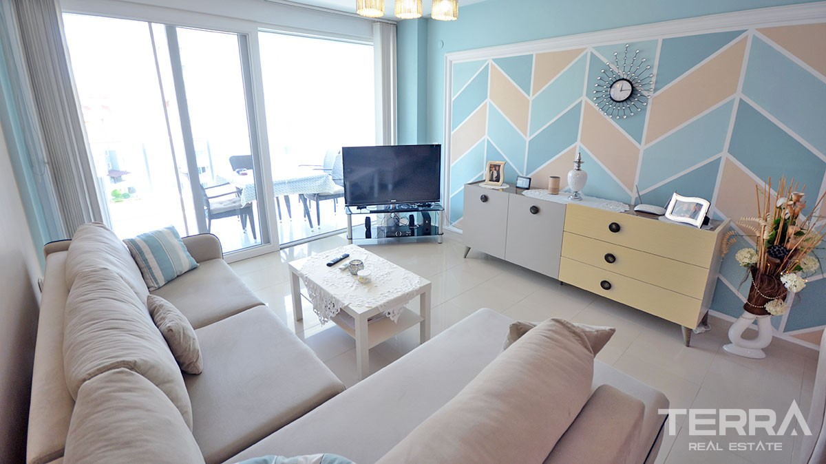 Fully Furnished 1 Bedroom Apartment for Sale in Alanya