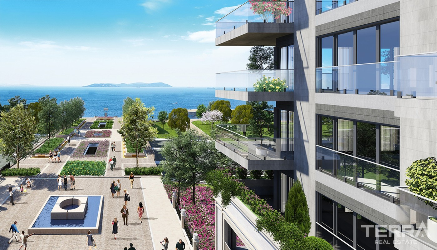 Cozy Apartments For Sale in the New Coastal District of Istanbul