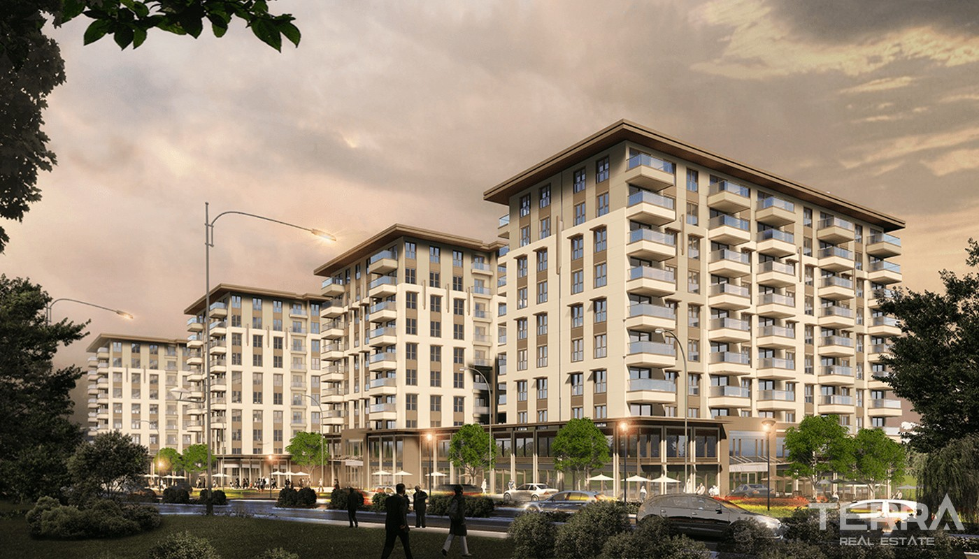 Prestigious and spacious apartments for sale in Istanbul