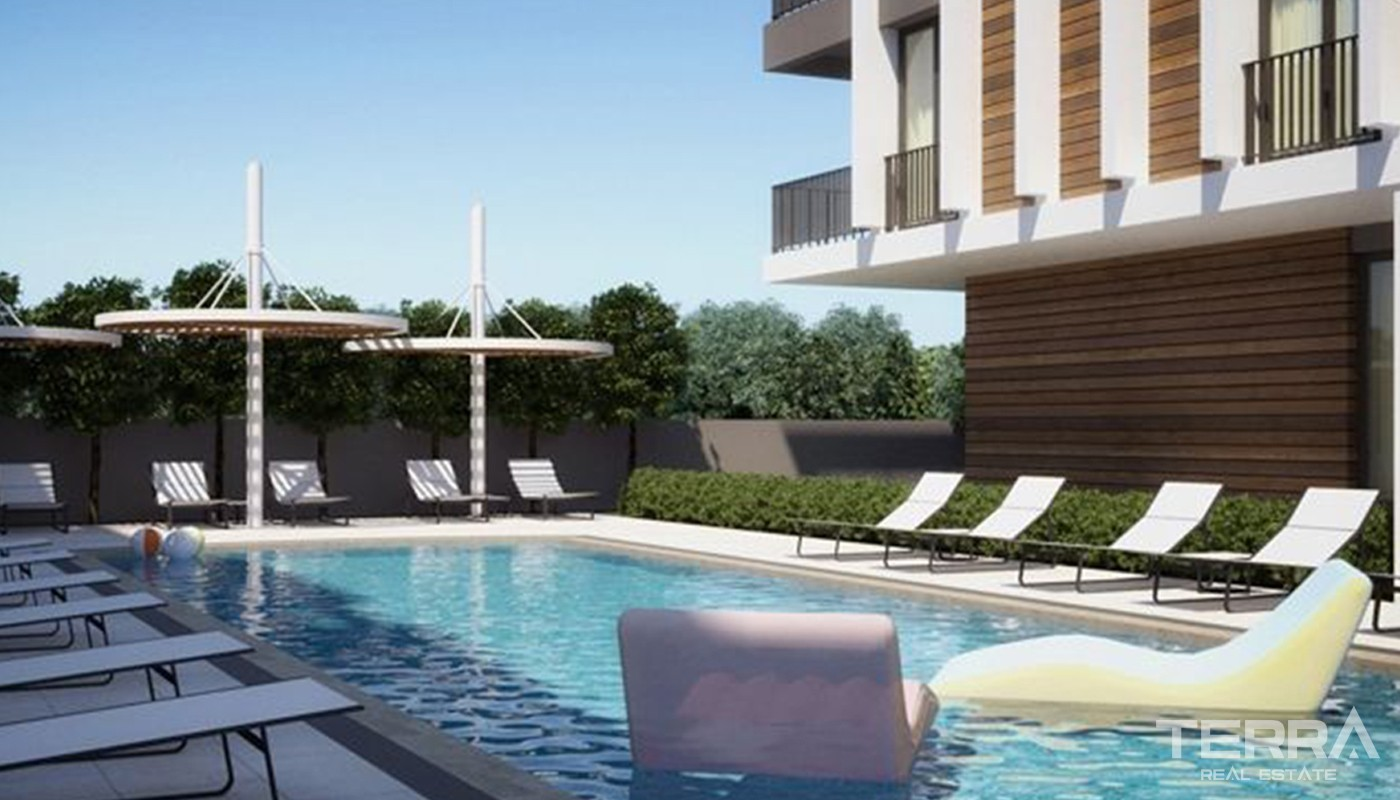 Luxury Apartments for Sale in Antalya Lara