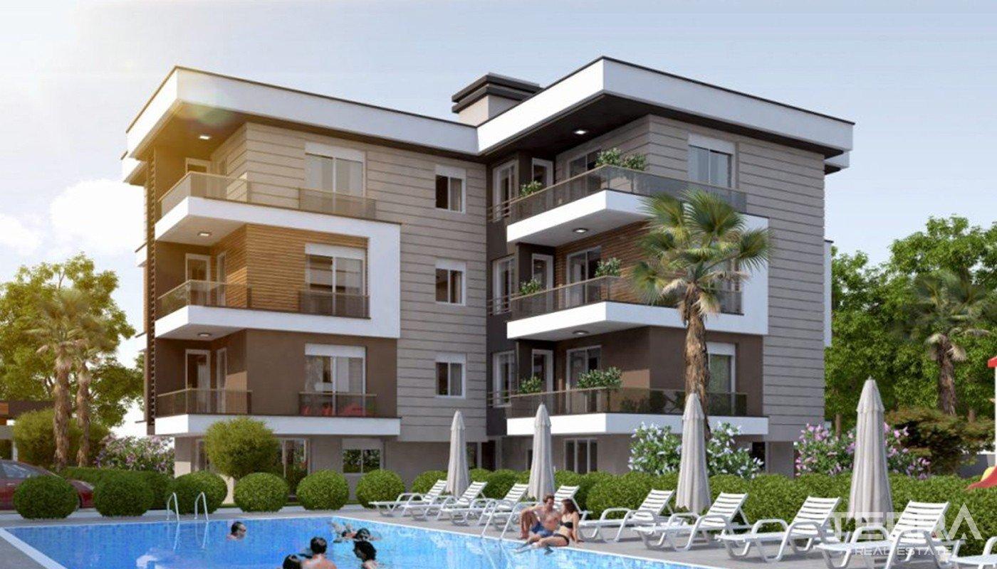 Luxury Apartments for Sale in Antalya Kepez