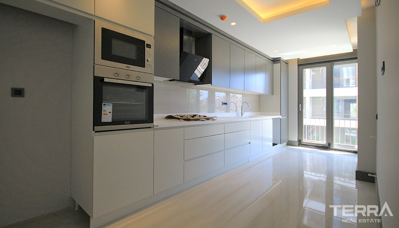 Exclusive Apartments for Sale in Antalya Lara With Smart Home Concept