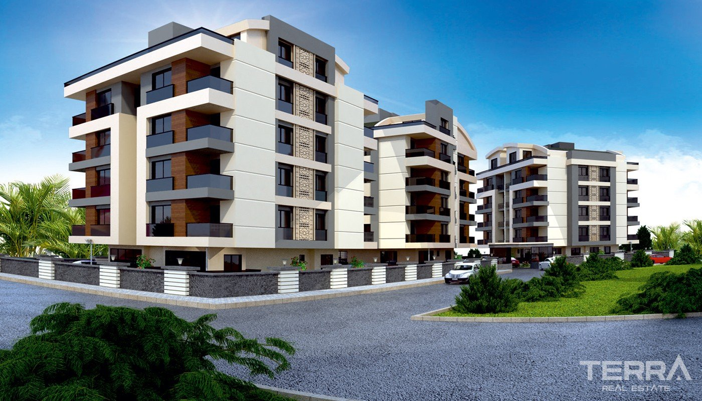 Luxury Apartments for Sale in Antalya