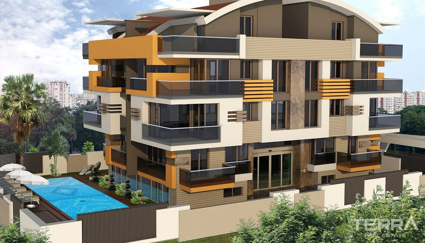 Newly Built and Centrally Located Apartments in Antalya