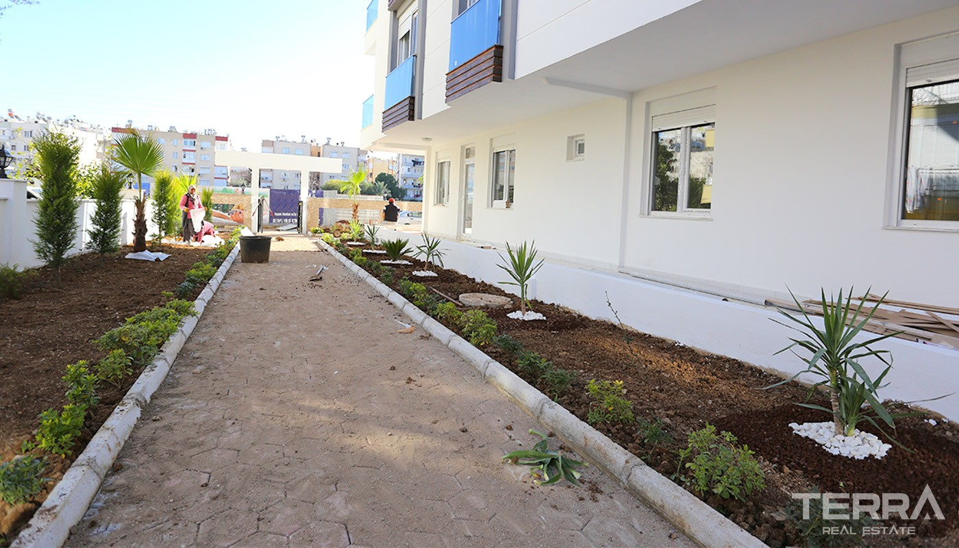 Centrally Located Apartments in Antalya with Separate Kitchen