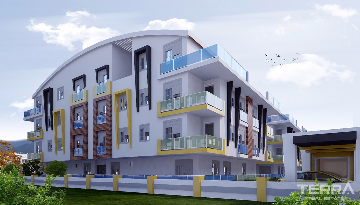 Elegant Konyaalti Apartments with Modern Architecture