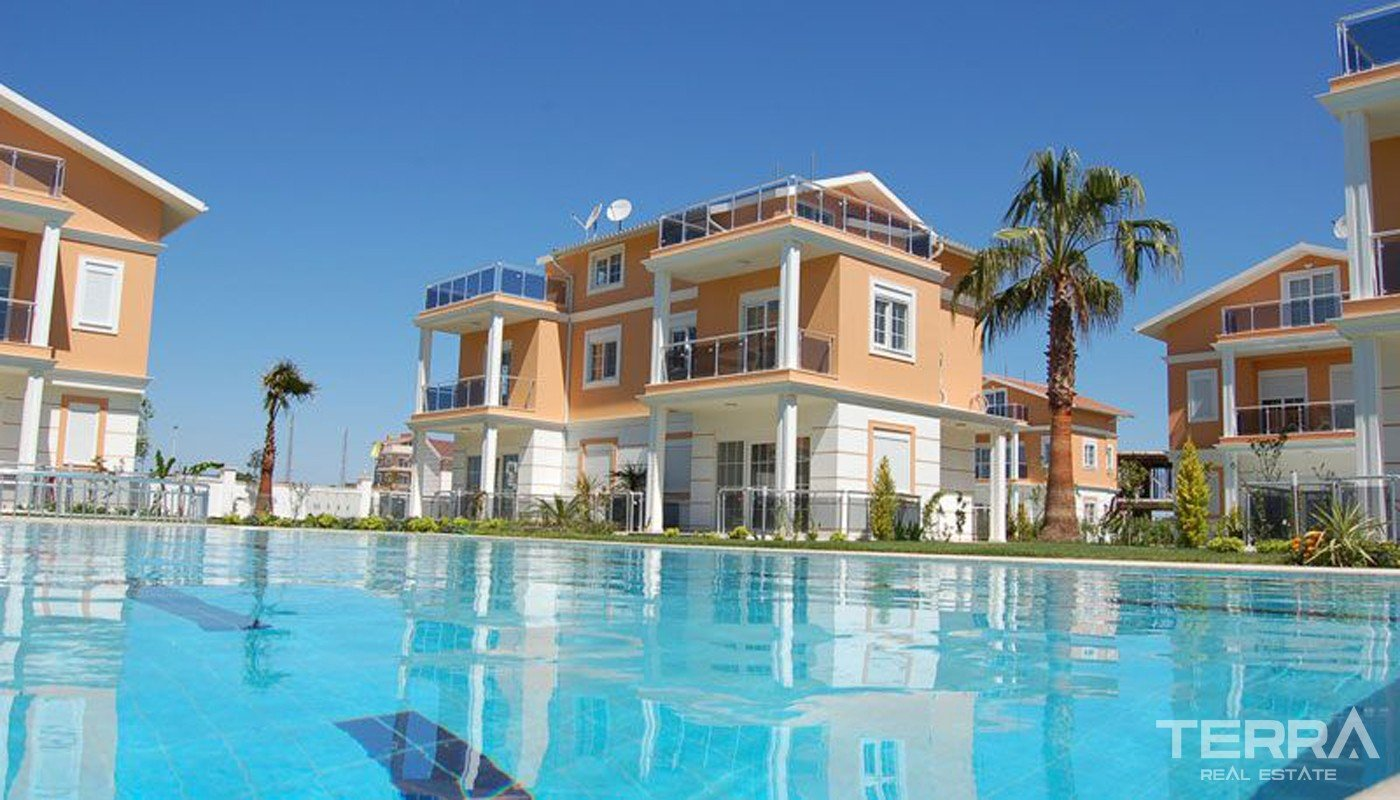 Semi-Detached Golf Villas in Belek Antalya