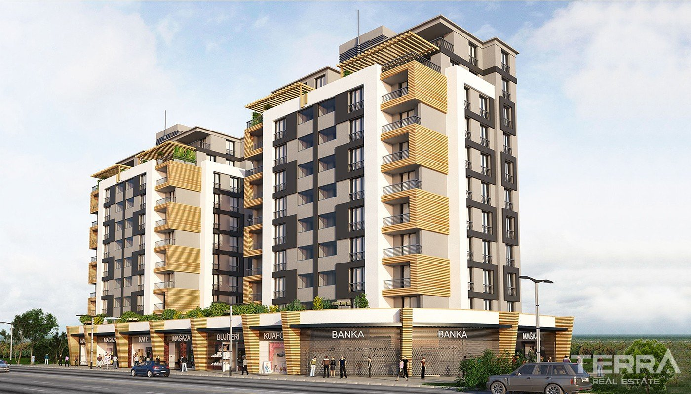 Ready Istanbul Apartments Close to Main Arteries of the City