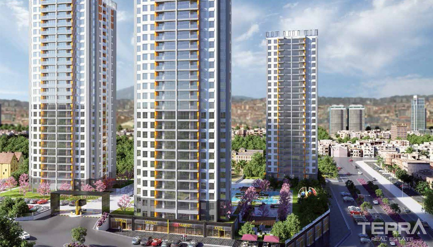 Brand-new Istanbul Apartments Close the Highways in Bagcilar