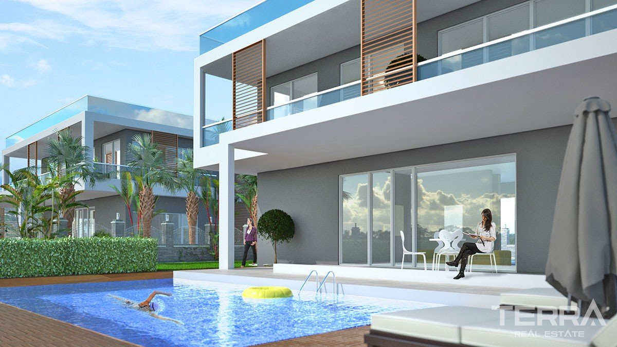Exclusive Sea View Villas in Alanya Kargıcak with Private Pool