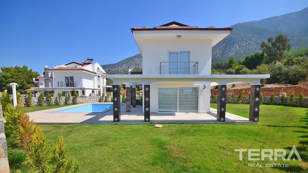 Family Villa in Fethiye Ovacık With Private Pool