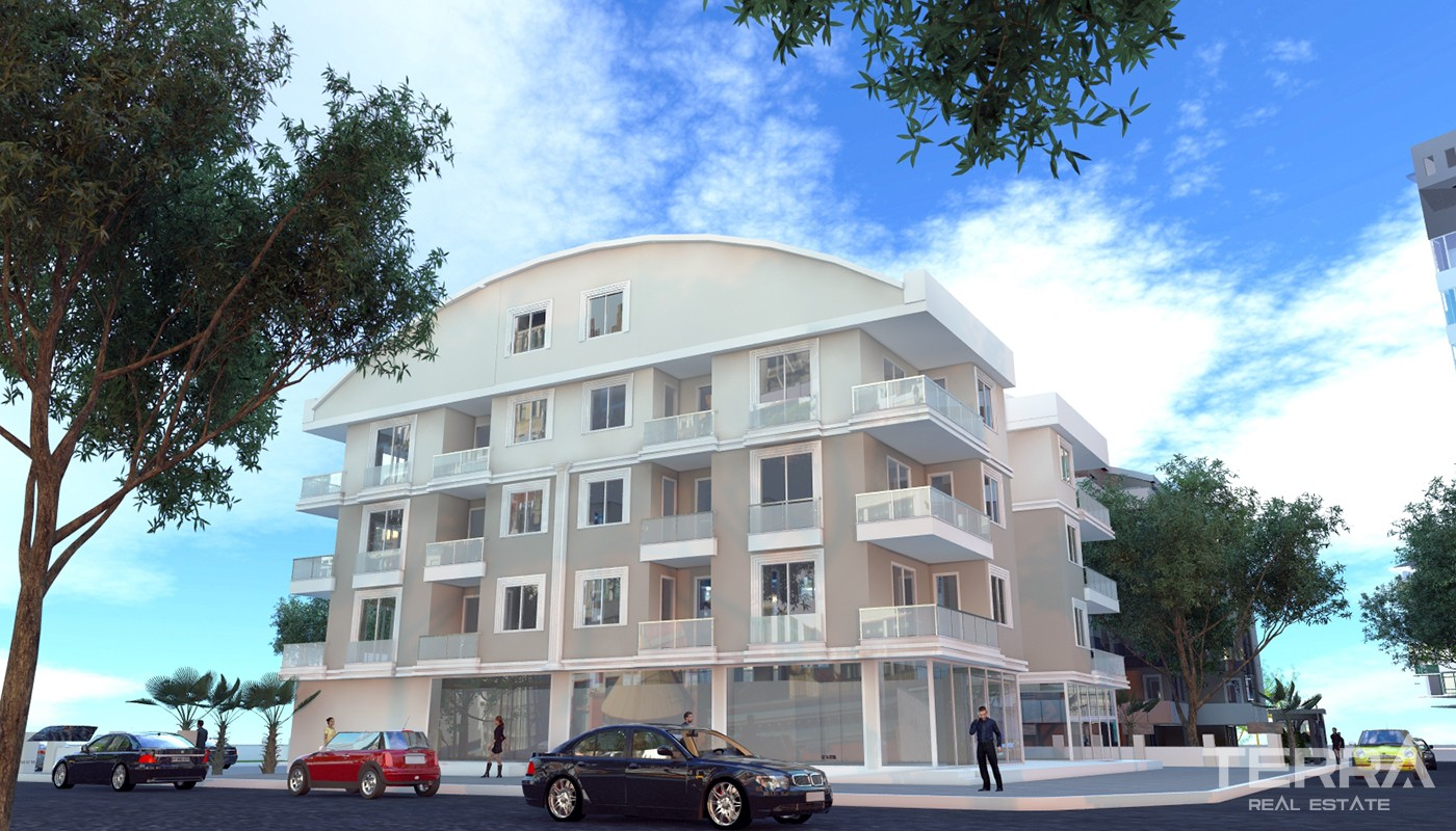 Entire 4-Storey Building for Sale in Antalya Kepez