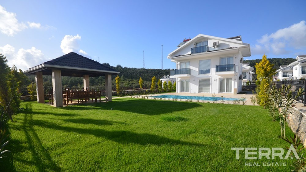 Luxury Private Villa for Sale in Fethiye Ovacık with Private Pool